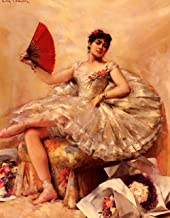 Portrait of The Ballerina Rosita Mauri by Leon Francois Comerre - 20