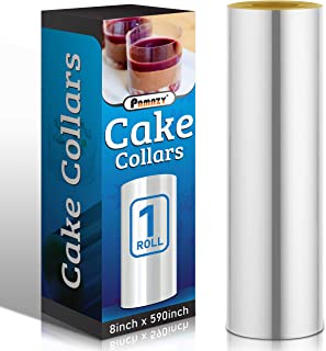 Cake Collars 8 x 591inch, 150micron Thickness Cake Film Transparent, Acetate Sheets for Baking, Best Choice...