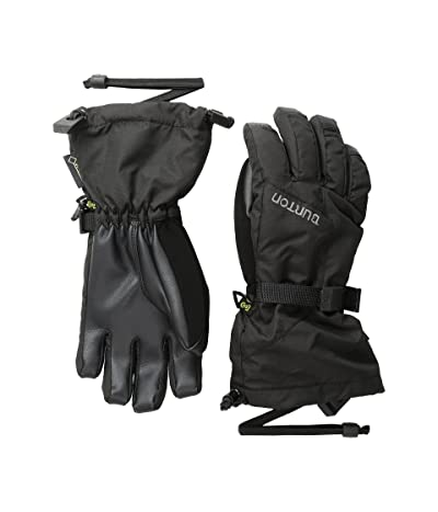 Burton Kids GORE-TEX(r) Dryride Gloves (Little Kids/Big Kids) (True Black) Snowboard Gloves