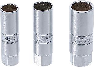 "BGS 6858 | bougie-inzetset twaalfkant | 3-delig | 10 mm (3/8"") | SW 14 - 16 - 18 mm | bougiesleutel"