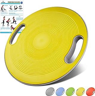 arteesolバランスボード 5色 丸形 運動不足/ダイエット/体幹トレーニング/エクササイズ 滑り止め 持ち運び便利 運動 健康 リハビリ ケガ予防 自宅やジムで利用可能
