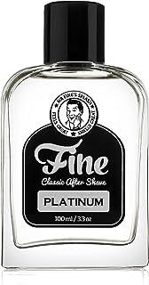 Mr Fine Platinum Mens Aftershave -A Splash Of Classic Barbershop Aftershave for Modern Men - The Wet Shaver's Favorite