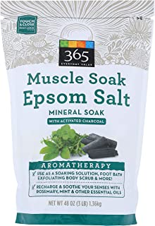 365 Everyday Value, Epsom Salt Mineral Soak, 48 oz