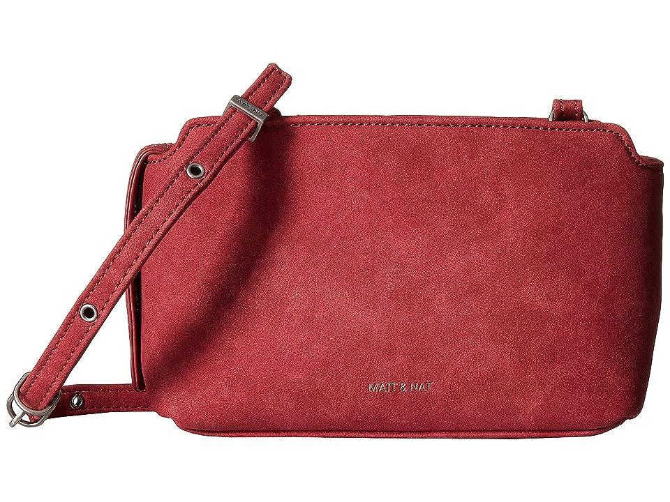 Matt & Nat Raven (Red) Handbags