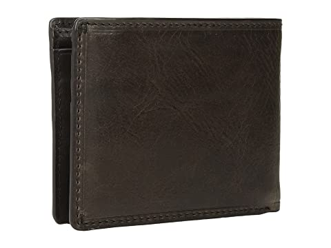 Antique Pull Up Frye Logan ID Slim Slate Billfold YXZwYPU18q