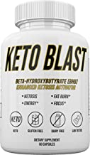 Keto Blast - Beta Hydroxybutyrate (BHB) - Enhanced Ketosis Activator Supply - 30 Day Supply