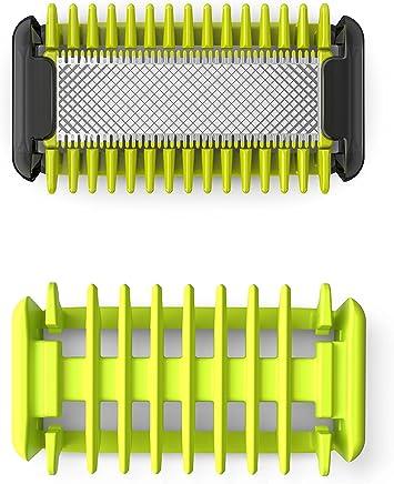 OneBlade QP610/50 kit lames Corps (1 lame + Système de protection des zones sensibles + 1 sabot corps)