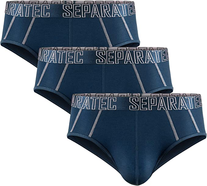 955 opinioni per Separatec Boxer da Uomo Morbido Cotone Supima Pettinato con Tasche Separate