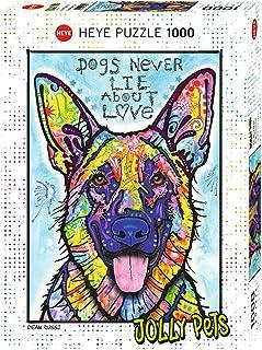 Heye Dogs Never Lie Puzzles (1000-Piece, Multi-Colour)