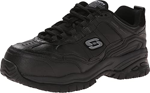 Skechers Skechers Work Hommes's Soft Stride-Chatham Lace-Up Slip Resistant paniers  magasin en ligne