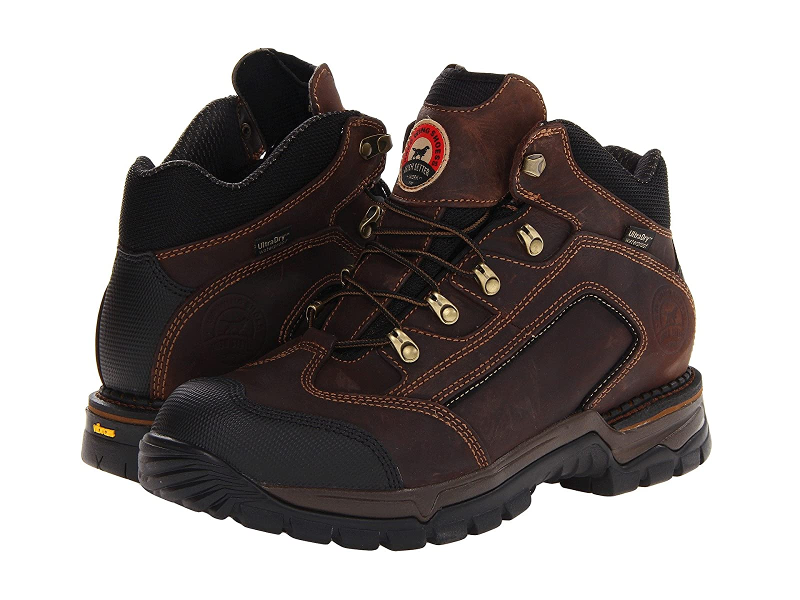 "Irish Setter Setter Irish 83403 5"" Waterproof Hiker f8d389"