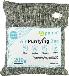 Apalus ® Bolsa de Carbón Activo De Bambú, Deshumidificador Y Purificador De Aire. Ambientador Natural Eficaz y Desodorante...