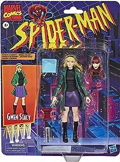 ハズブロ スパイダーマン マーベルレジェンド レトロパッケージ 6インチ アクションフィギュア グウェン・ステイシー / Hasbro 2020 SPIDER-MAN MARVEL LEGENDS RETRO SERIES 6inch GWEN...