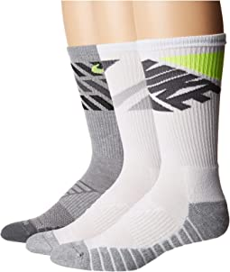 3c477236f Nike dri fit crew sock 3 pair pack | Shipped Free at Zappos