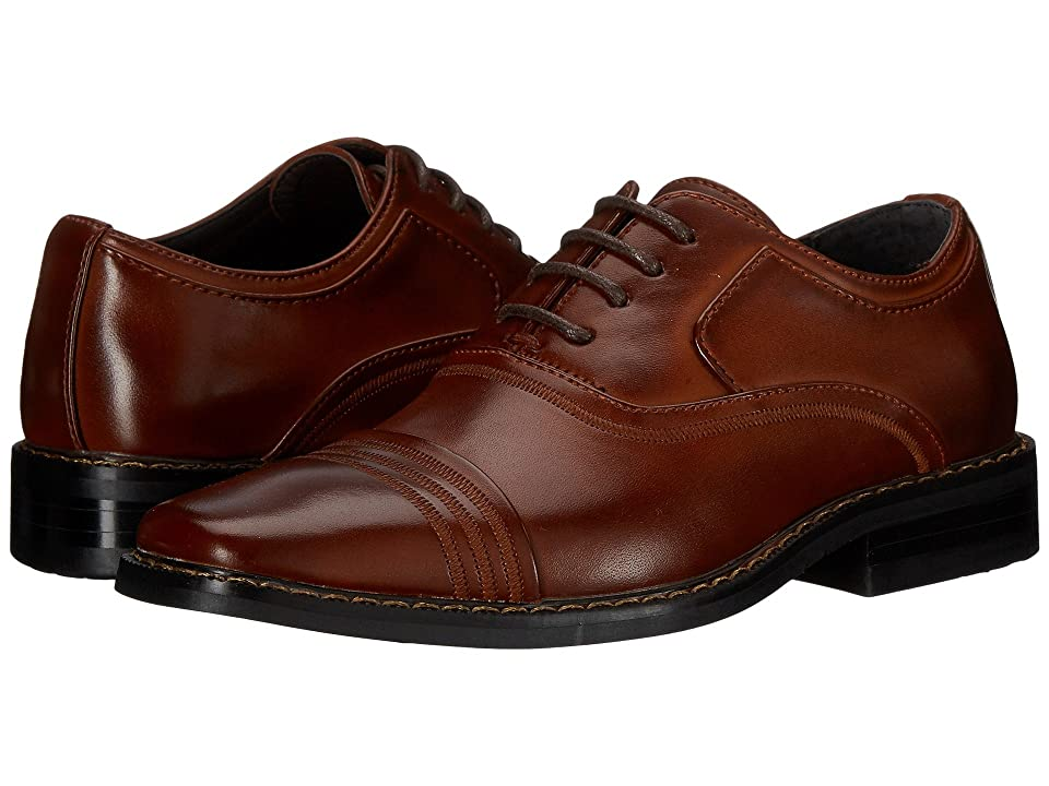 Stacy Adams Kids Bingham (Little Kid/Big Kid) (Cognac) Boys Shoes