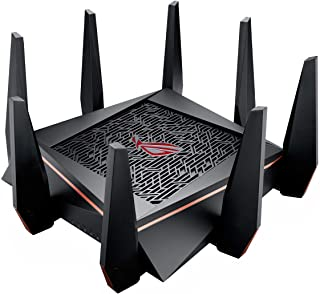 ASUS Gaming Router Tri-bAnd WiFi (Up to 5334 Mbps) For VR & 4K streaming, 1.8GHz Quad-Core...