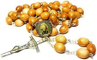3rd class relic rosary of Saint John Vianney Jean Baptiste Marie Vianney patron of parish priests Juan Bautista María Vianney patrono de Sacerdotes y Párrocos