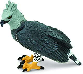 Safari Ltd. Harpy Eagle Realistic Hand Painted Toy Figurine Model Quality Construction from Phthalate,  Lead and BPA Free Materials for Ages 3 and Up
