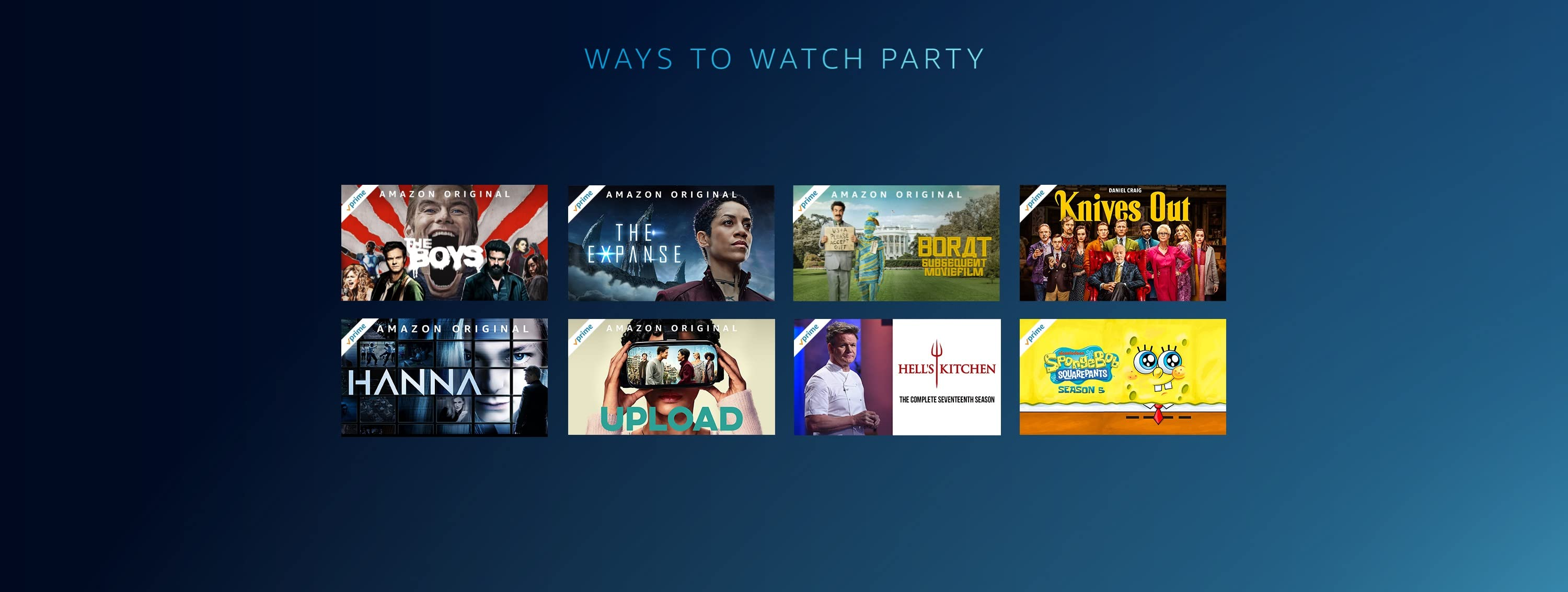 Ways to Watch Party