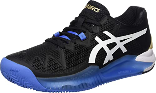 ASICS Gel-Resolution 8 Clay, Chaussure de Tennis Homme : Amazon.fr ...