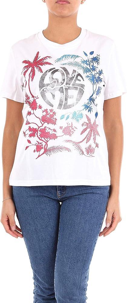 Alberta ferretti love me wild, t-shirt,maglietta per donna donna,100% cotone J070151600001