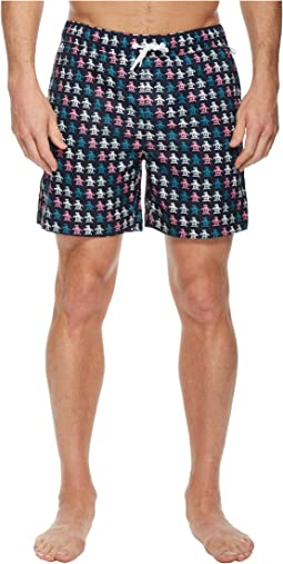 Original Penguin - Digital Pete Print Swimwear
