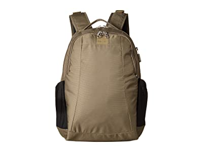 Pacsafe Metrosafe LS350 Anti-Theft 15L Backpack (Earth Khaki) Backpack Bags