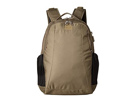 Outlet Visit Cheap Best Prices Pacsafe Metrosafe LS350 Anti-Theft 15L Backpack Earth Khaki 2018 Cool For Sale Free Shipping xYinvcE