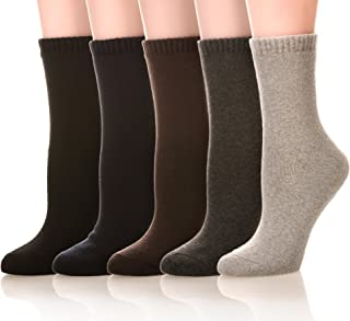 Womens Soft Thick Warm Cotton Crew Dress Winter Cold Weather Socks