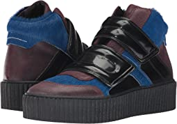 Mixed Material Creeper High Top