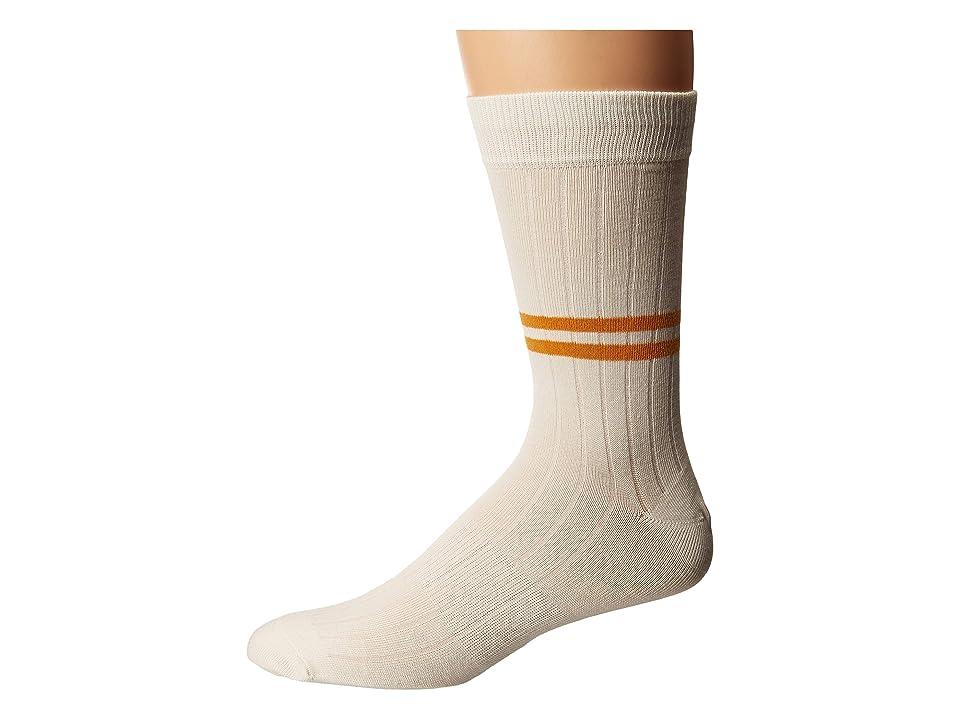 Vintage Men's Socks History-1900 to 1960s Richer Poorer Bixby Ivory Mens Crew Cut Socks Shoes $13.95 AT vintagedancer.com