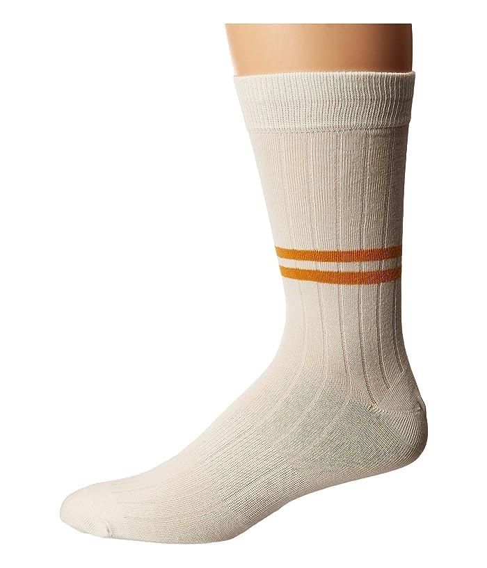 1920s-1950s New Vintage Men's Socks Richer Poorer Bixby Ivory Mens Crew Cut Socks Shoes $11.90 AT vintagedancer.com
