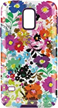 Speck Products Samsung Galaxy S5 CandyShell Inked Case  - Bold Blossoms White/Revolution Purple