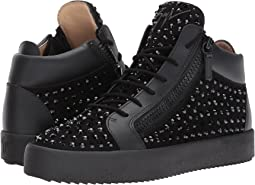 Giuseppe Zanotti - May London Mid Top Studded Sneaker