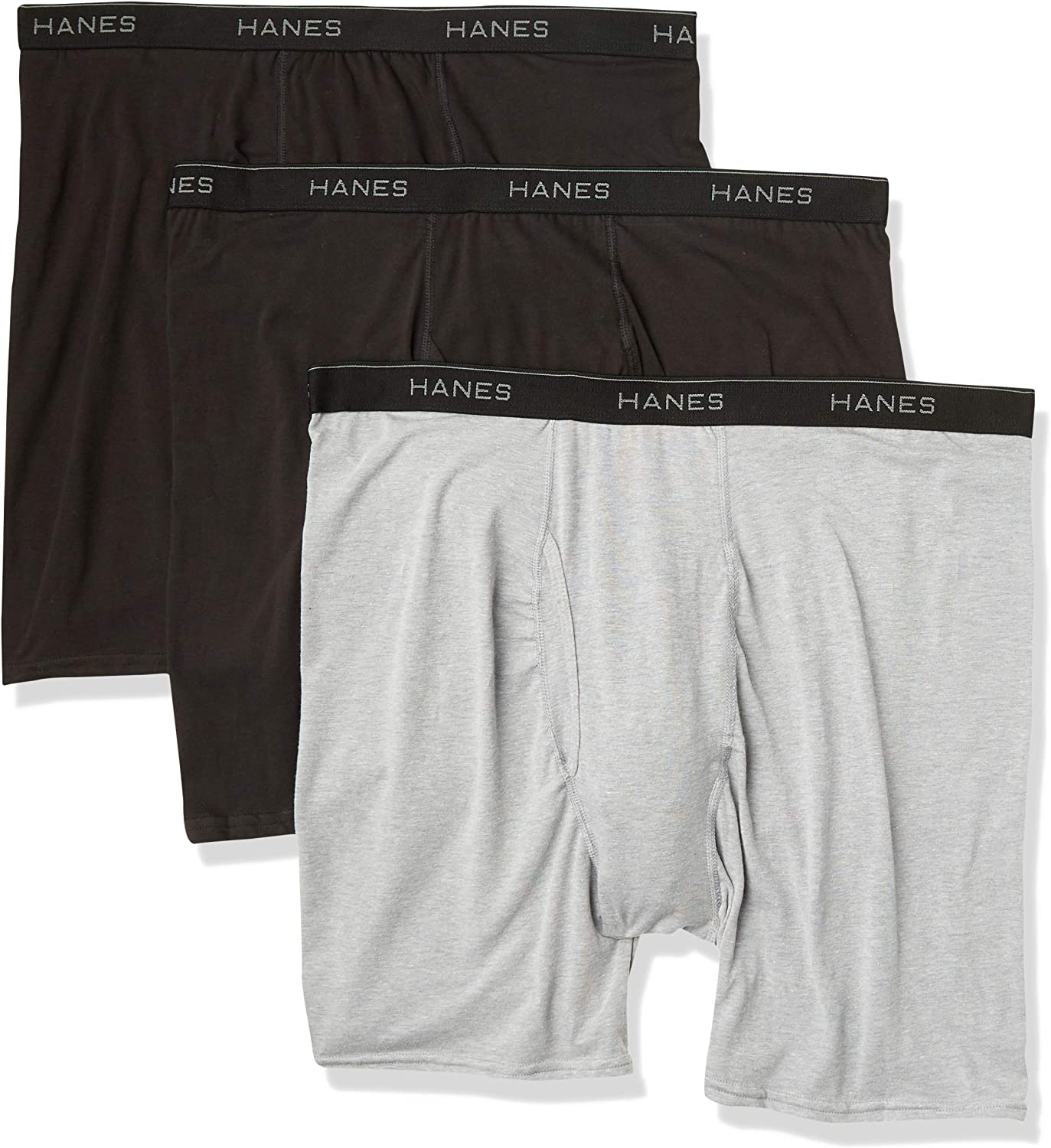 Hanes Men's Max 42% OFF Stretch Boxer 3 OFFicial Briefs Pack