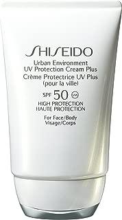 Shiseido Urban Environment Uv Protection Face and Body Cream for Unisex SPF 50, 1.8 Ounce