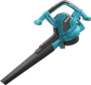 GARDENA bladblazer/-zuiger ErgoJet 3000: Bladblazer/-zuiger met motorvermogen van 3.000 W, zuigvermogen 170 l/s, blaassnel...