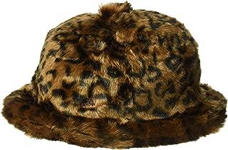 Kangol Men's Faux Fur Casual Bucket Hat