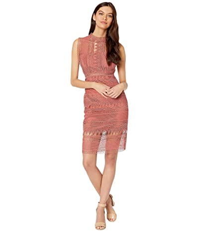 Bardot Mariana Lace Dress (Moroccan Rose) Women