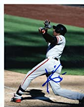 Autographed Joaquin Arias Photograph - San Francisco Giants 8x10 Hitting - Autographed MLB Photos