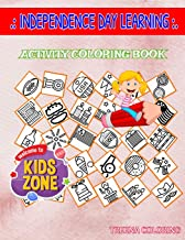 Independence Day Learning: 30 Image Bell, Building, Beverage, Speech, Medal, Usa, Unitedstatesofamerica, Shield For Mom Picture Quizzes Words Activity Coloring Books