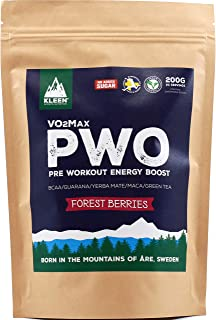 KLEEN Sports Nutrition VO2Max PWO - Forest Berries