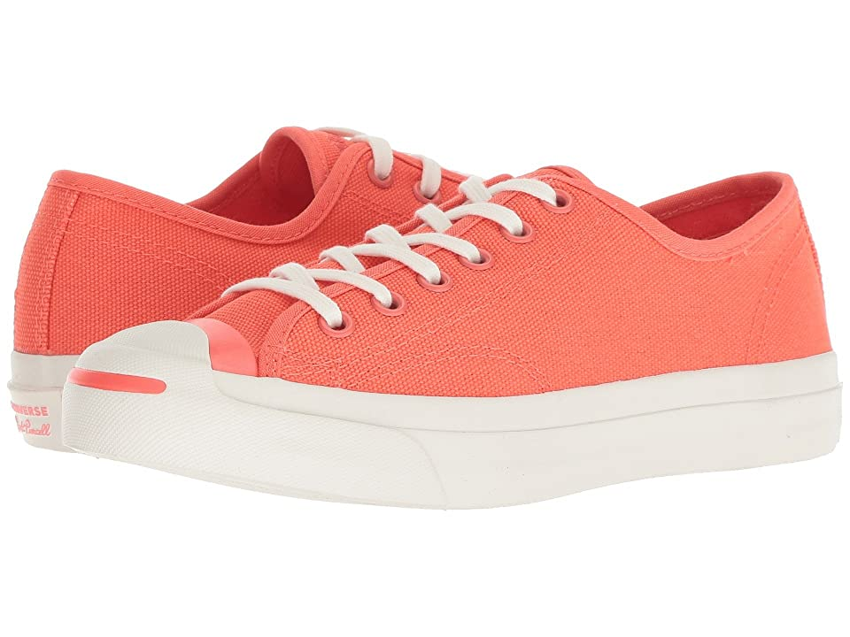Converse Jack Purcell(r) Jack Ox (Rush Coral/Egret/Rush Coral) Athletic Shoes