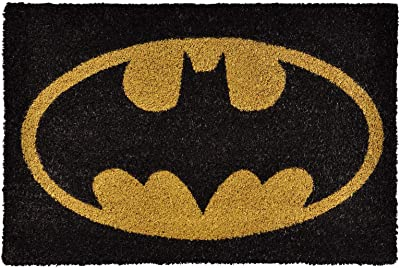 Pyramid International DC Originals Batman Logo Colour Doormat, Multi-Colour, 60 x 40 cm