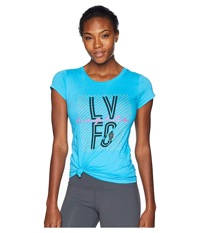 Las Vegas Lights F.C. Las Vegas Lights FC Lights Tee (Cyan) Women