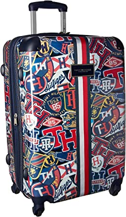 "TH-660 Vintage Rally 25"" Upright Suitcase"