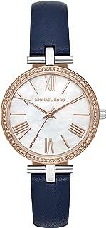 Michael Kors Women's Quartz Wrist Watch analog Display and Leather Strap, MK2833