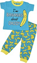 Unique Baby Unisex Bananas About Daddy 1st Father's Day Pajama Set