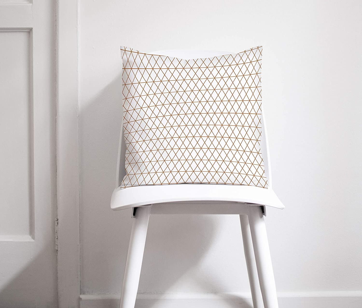 Geometric Copper Throw discount Pillow Challenge the lowest price