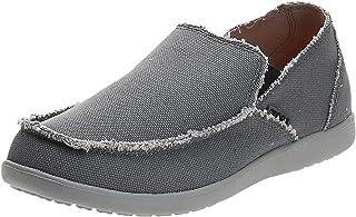 حذاء لوفر سانتا كروز قطعتين من الجلد الفاخر للرجال من كروكس